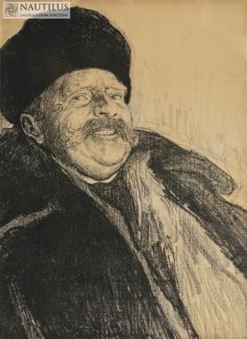 Studium portretowe szlachcica z Ukrainy, 1912