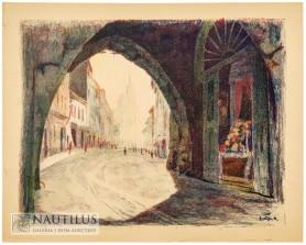 Kraków. Sześć autolitografii, 1928