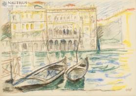 Wenecja. Canal Grande, 1913