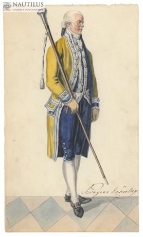 Stroje i mundury polskie, ok. 1860