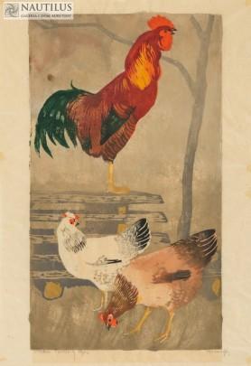 Koguty i kury, 1932