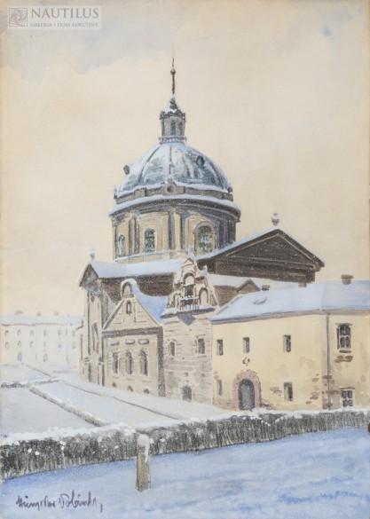 Mieczysław Tobiasz, Kościół Dominikanów we Lwowie