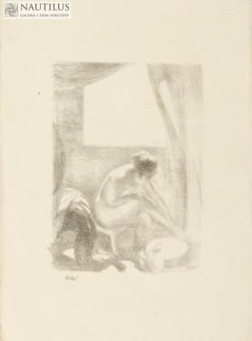 Akt [Myjąca nogi], 1916