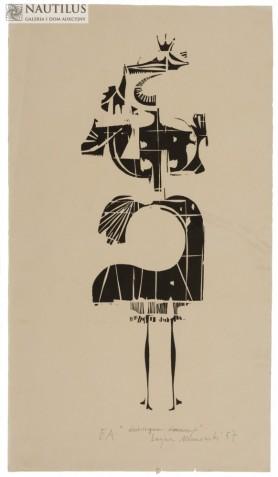 Dziewczyna, 1957