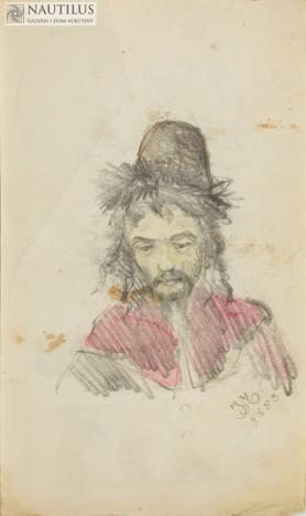 Portret Żyda, 1883