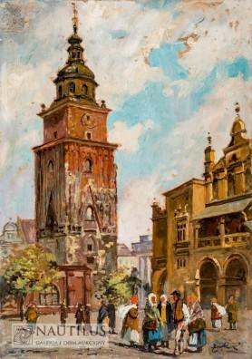 Rynek w Krakowie, przed 1932
