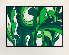 Kompozycja roślinna, l. 90. XX w.
