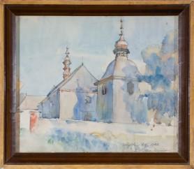 Kościół w Mydłowie, 1922