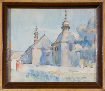 Zygmunt Sawczyńśki, Kościół w Mydłowie