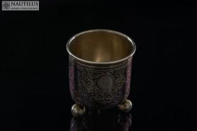 Pucharek na trzech nóżkach, 1885