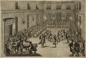 Bal wydany przez rzymskiego kardynała na cześć polskiego królewicza [Aleksandra Karola Wazy], ok. 1635