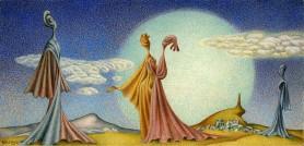 Przechadzka surrealistyczna, 1974