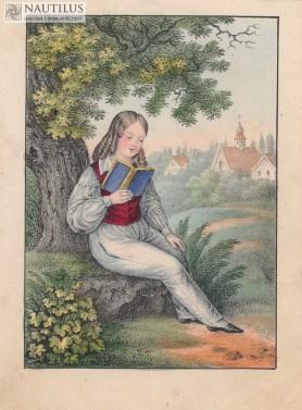 Stroje i zabawy dziecięce, ok. 1836