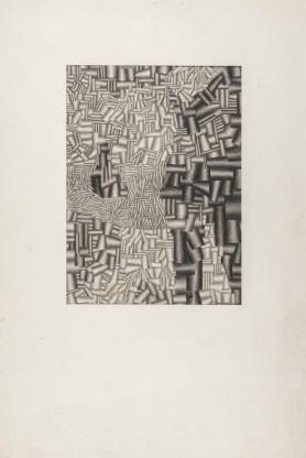Kompozycja z kolców i walców, ok. 1963